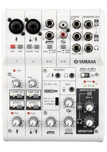Yamaha Mischpult »AG06«, mit 6 Kanälen