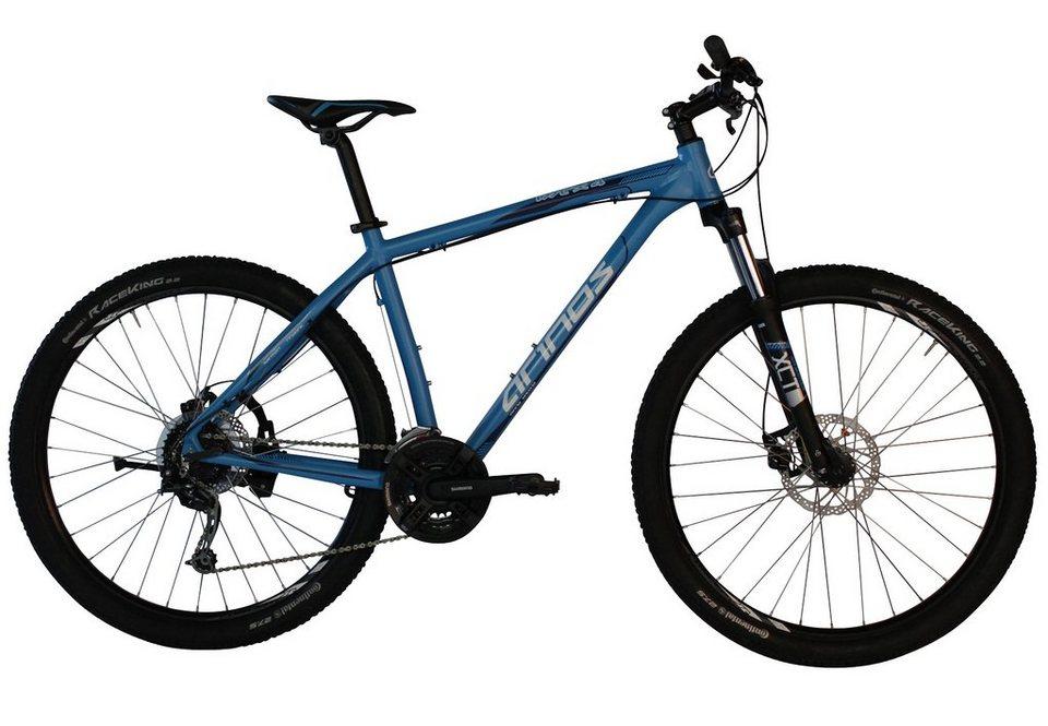 Arinos Mountainbike, Hardtail, 27,5 Zoll, 24 Gang Deore, mech. Scheibenbremsen, blau, »MTX4« in blau