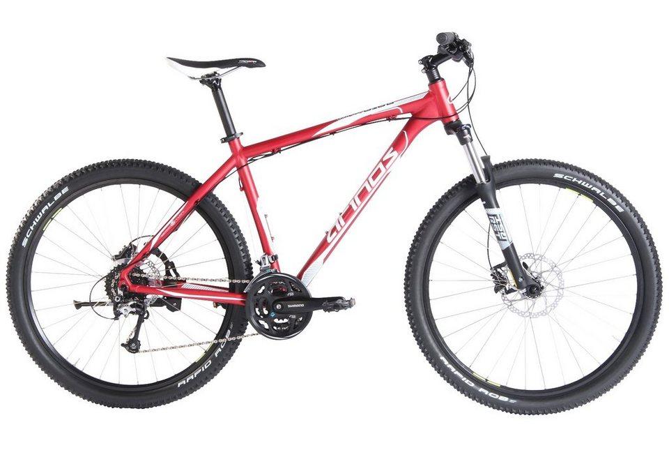 Arinos Mountainbike, Hardtail, 27,5 Zoll, 24 Gang Deore XT, hydr. Scheibenbremsen, »MTX650b« in rot