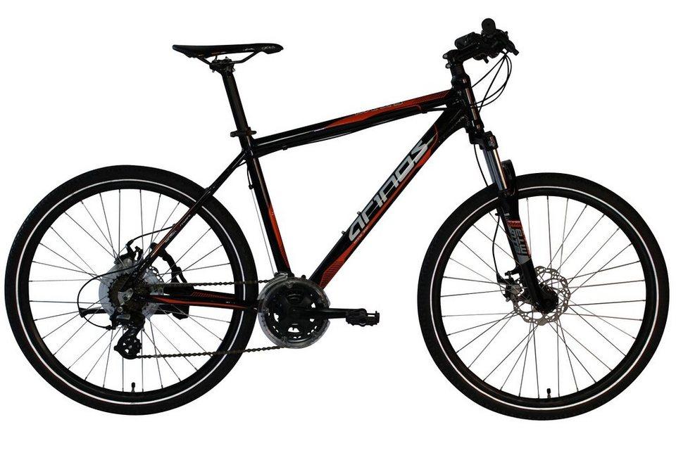 Arinos Mountainbike, Hardtail, 26 Zoll, 21 Gang Altus, mech. Scheibenbremsen, »MTX3« in schwarz