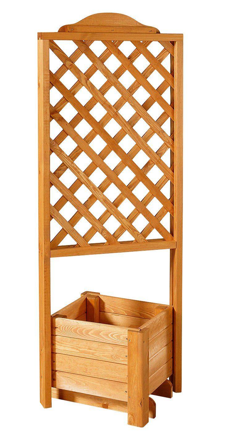 Holzspalier »Eckspalier mit Pflanzkasten 38x140 cm«