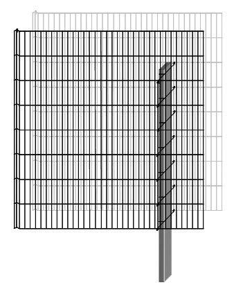 Bellissa Zaun »Gabionen-Mauersystem Limes Anbausatz 112 x 23 cm« | Garten > Zäune und Sichtschutz | Belissa