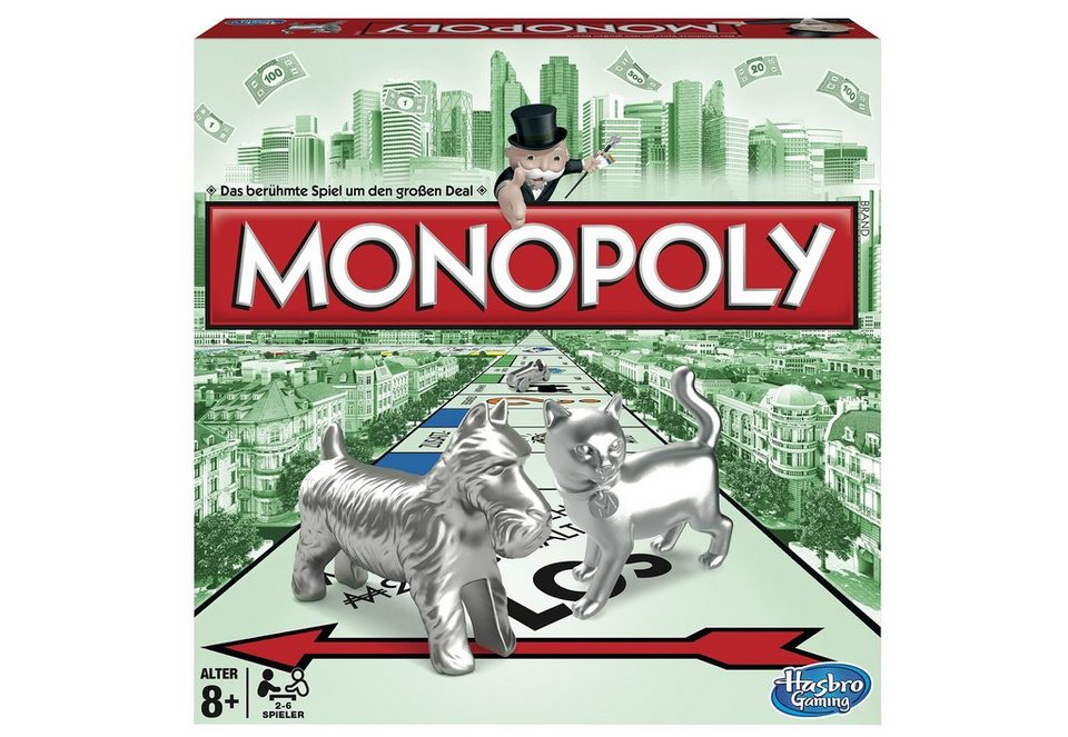 Hasbro, Familienspiel, »Monopoly Classic«