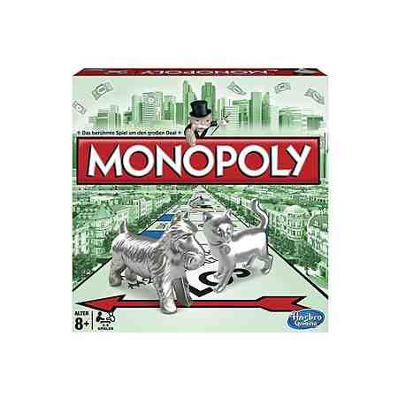 Familienspiel, PARKER, »Monopoly Classic«, Hasbro