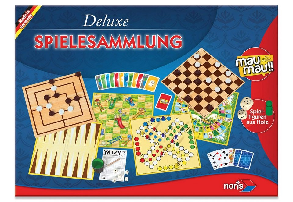 Noris, Spielesammlung, »Deluxe Spielesammlung«