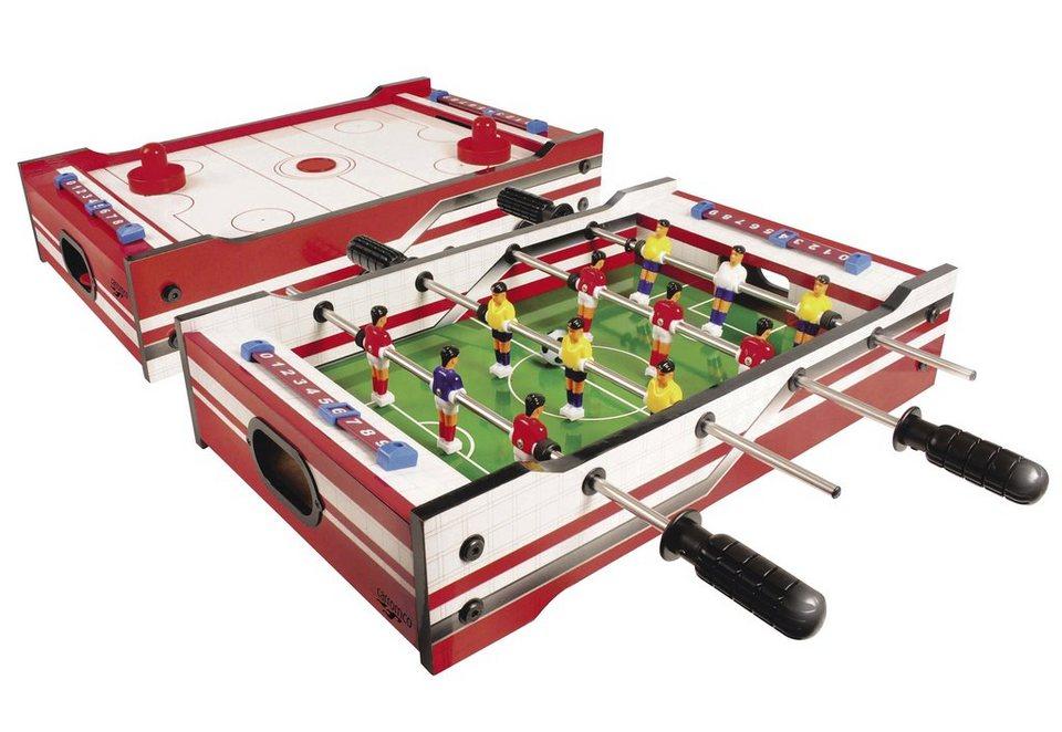Carromco Multi-Spiel 2in1, »MultiSpiel FLIP-XM«
