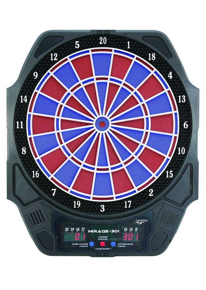carromco elektronische dartscheibe dartboard mirage 301 online kaufen otto. Black Bedroom Furniture Sets. Home Design Ideas