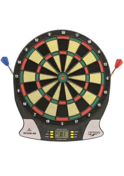 Carromco Dartscheibe »Elektronische Dartscheibe, Elektronik Dartboard Score-301«