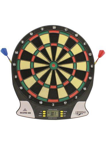 carromco elektronische dartscheibe elektronik dartboard score 301 online kaufen otto. Black Bedroom Furniture Sets. Home Design Ideas