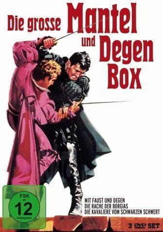 DVD »Die grosse Mantel-und Degen-Box«
