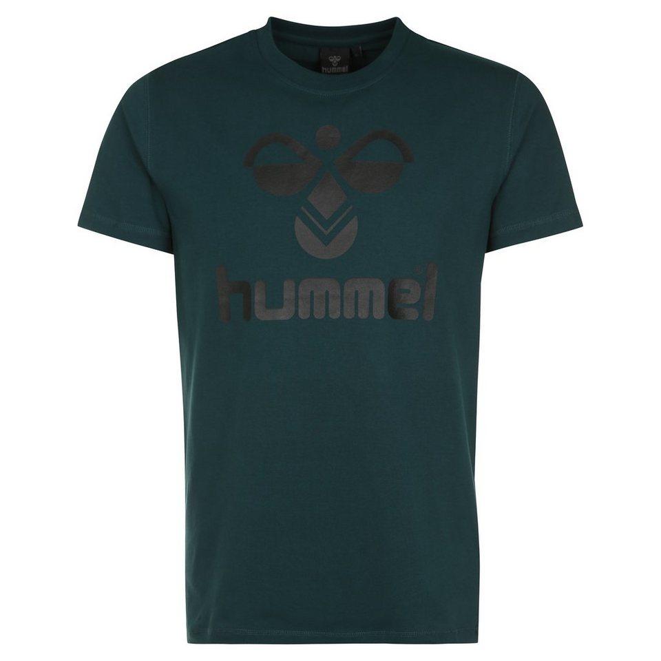 HUMMEL TEAMSPORT Classic Bee T-Shirt Herren in dunkelgrün / schwarz