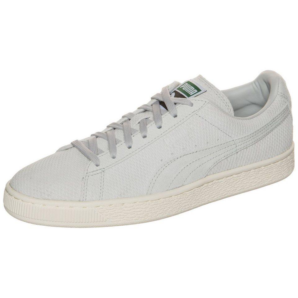 PUMA Suede Classic+ Mod Heritage Sneaker in grau / weiß