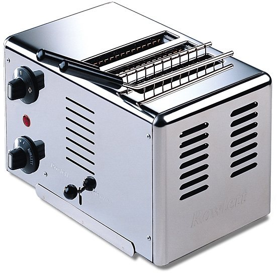 Gastroback Rowlett Edelstahl-Toaster-Sandwichtoaster 42103, 1320 Watt, metall in metall