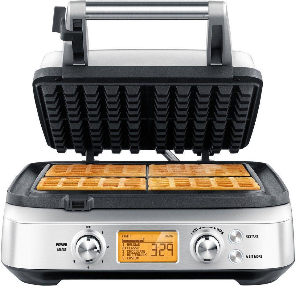 Gastroback Waffeleisen >>Design Gourmet Waffeleisen Advanced 4S 42421<<, max. 1.800 Watt in Edelstahl