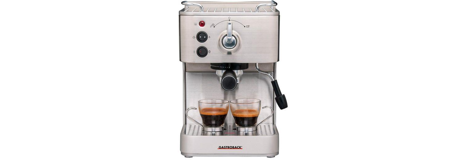 Gastroback Espressomaschine >>Design Espresso Plus 42606<<, 15 bar