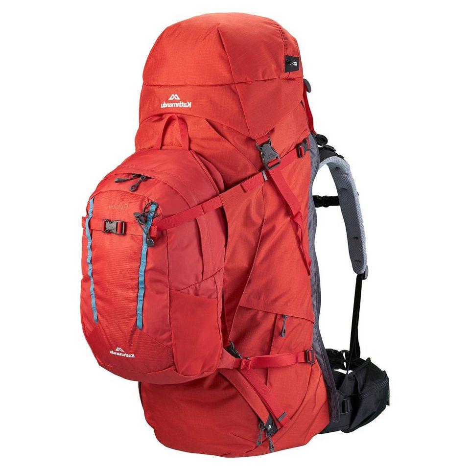 Kathmandu Set: 70 Liter Trekking Rucksack »Interloper v2« (2 tlg.) in Sunset