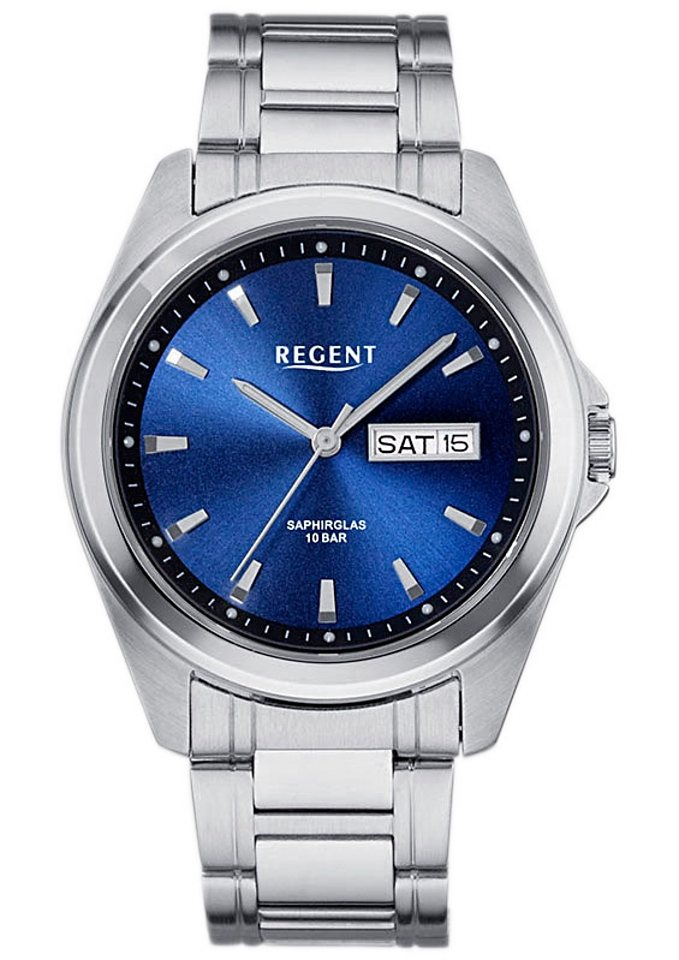 "Regent, Armbanduhr, ""11150521"" in silberfarben"