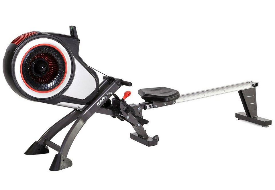 Sportplus Rudermaschine, »Turbine Rower SP-MR-010« in schwarz-rot-weiss
