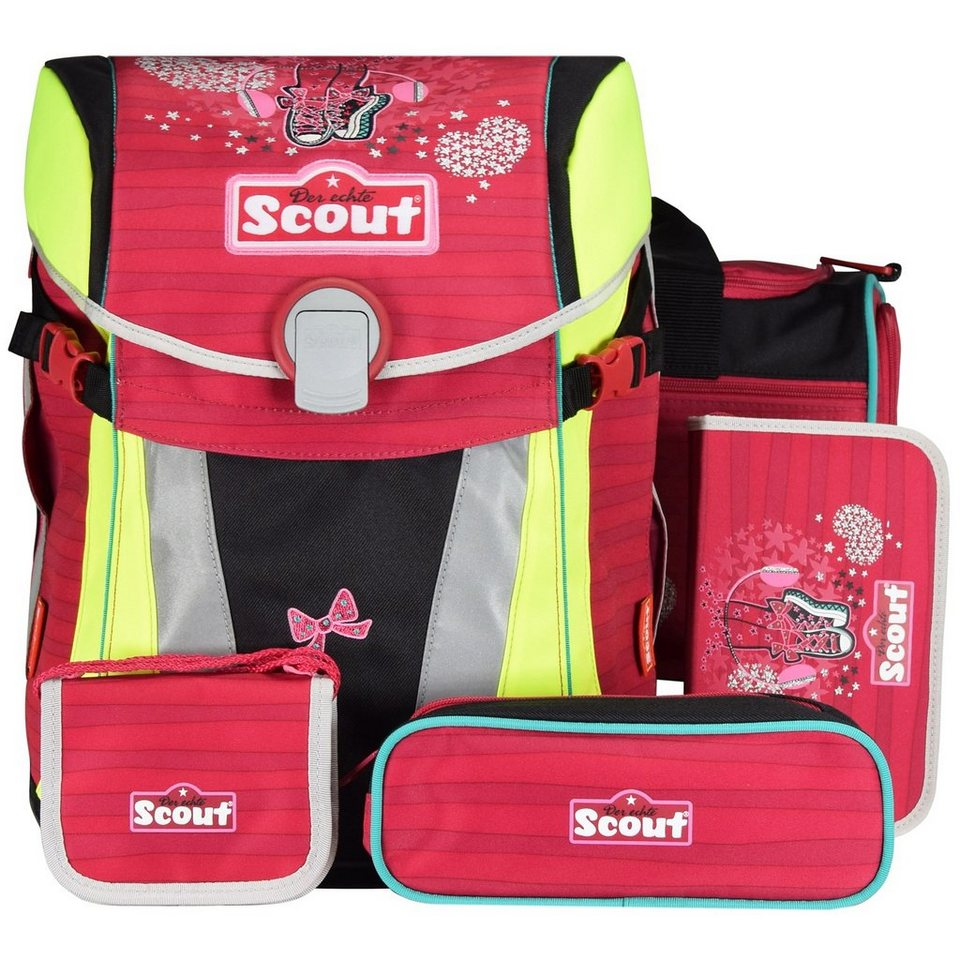 Scout Limited Edition Sunny Schulranzen-Set 5-tlg. in Dance II