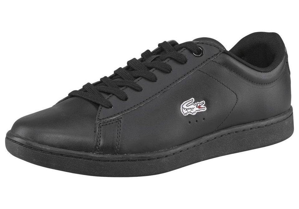 Lacoste Carnaby Evo WMP Sneaker in Schwarz