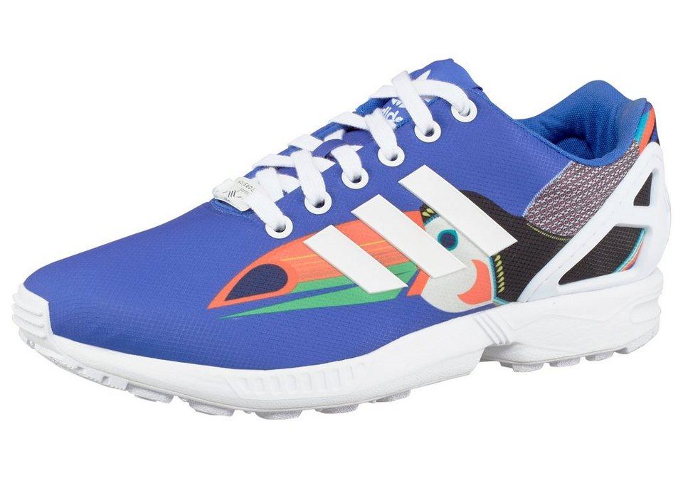 adidas Originals »ZX Flux W« Sneaker in blau-schwarz