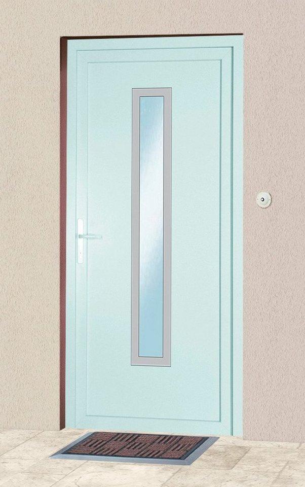 Kunststoff-Haustür »1«, BxH: 98x208 cm in weiß