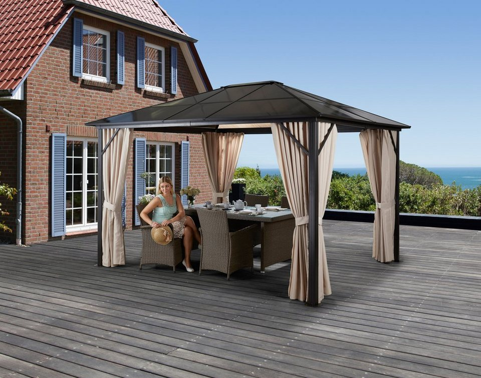 Holz Pavillon Mit Seitenteilen Bvrao Com