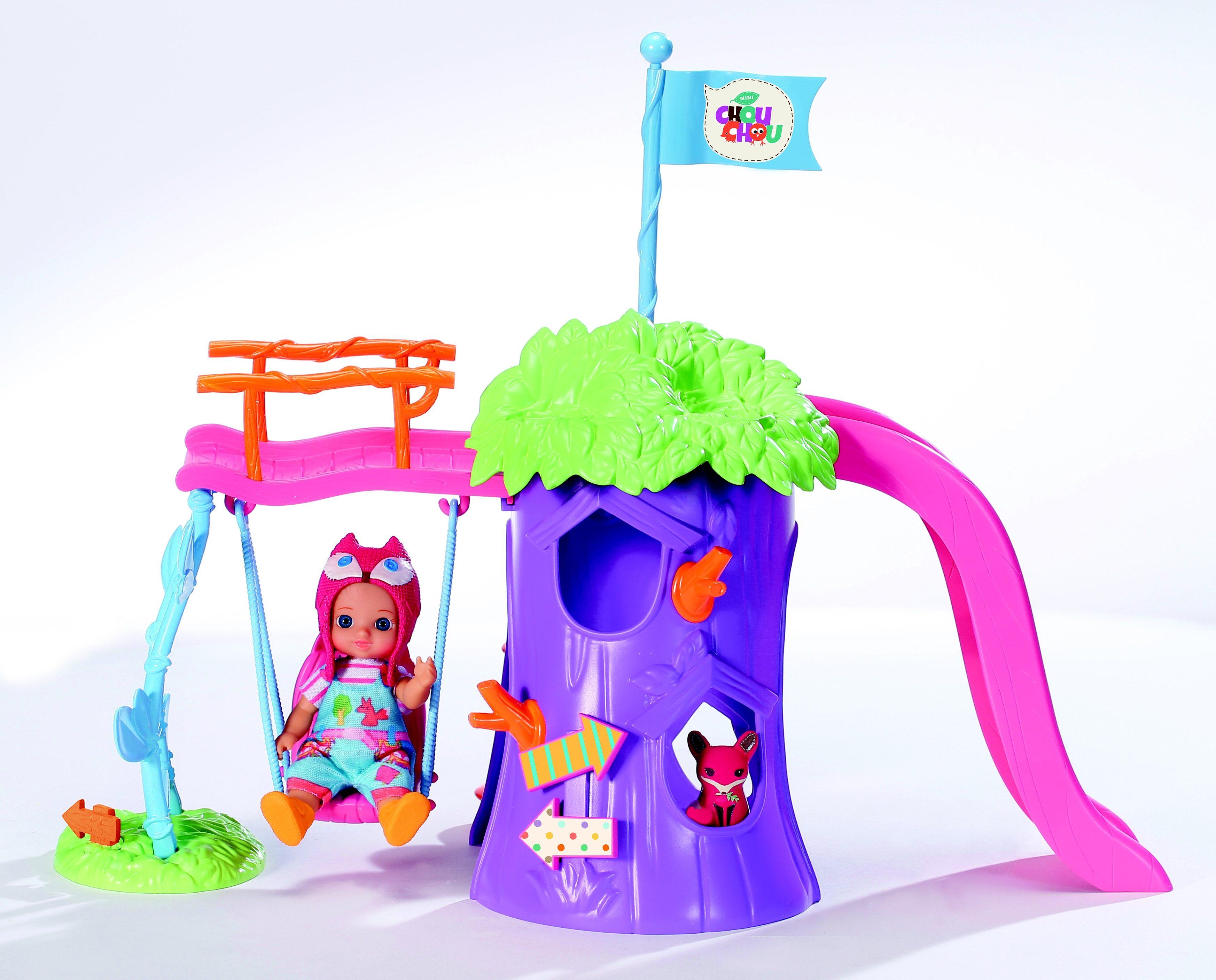 Zapf Creation Spielplatz mit Puppe, »mini CHOU CHOU«