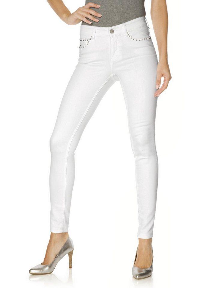 MAC Jeans AUTHENTIC ROCK in weiß