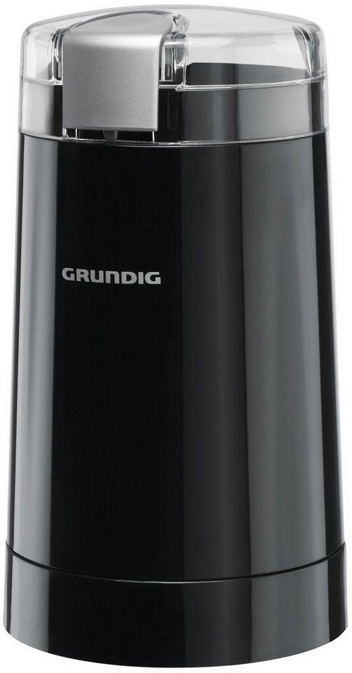 Grundig Kaffeemühle CM 3260 in schwarz-silber