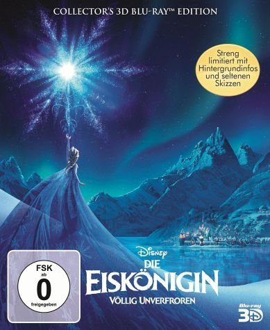 Blu-ray »Die Eiskönigin - Völlig unverfroren (Blu-ray...«