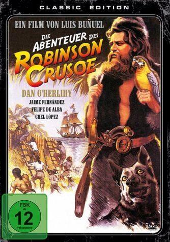 DVD »Die Abenteuer des Robinson Crusoe«