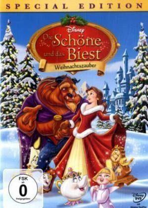 DVD »Die Schöne und das Biest: Weihnachtszauber...«