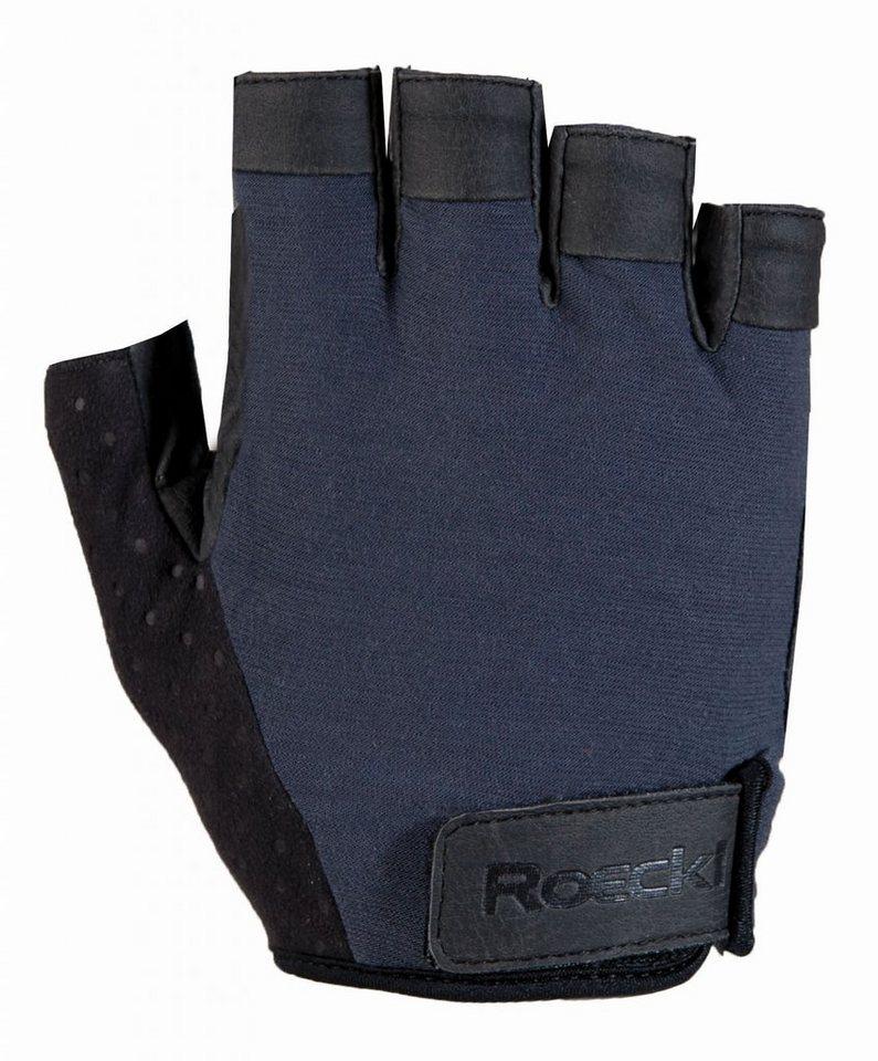 Roeckl Fahrrad Handschuhe »Oshawa Handschuh« in blau
