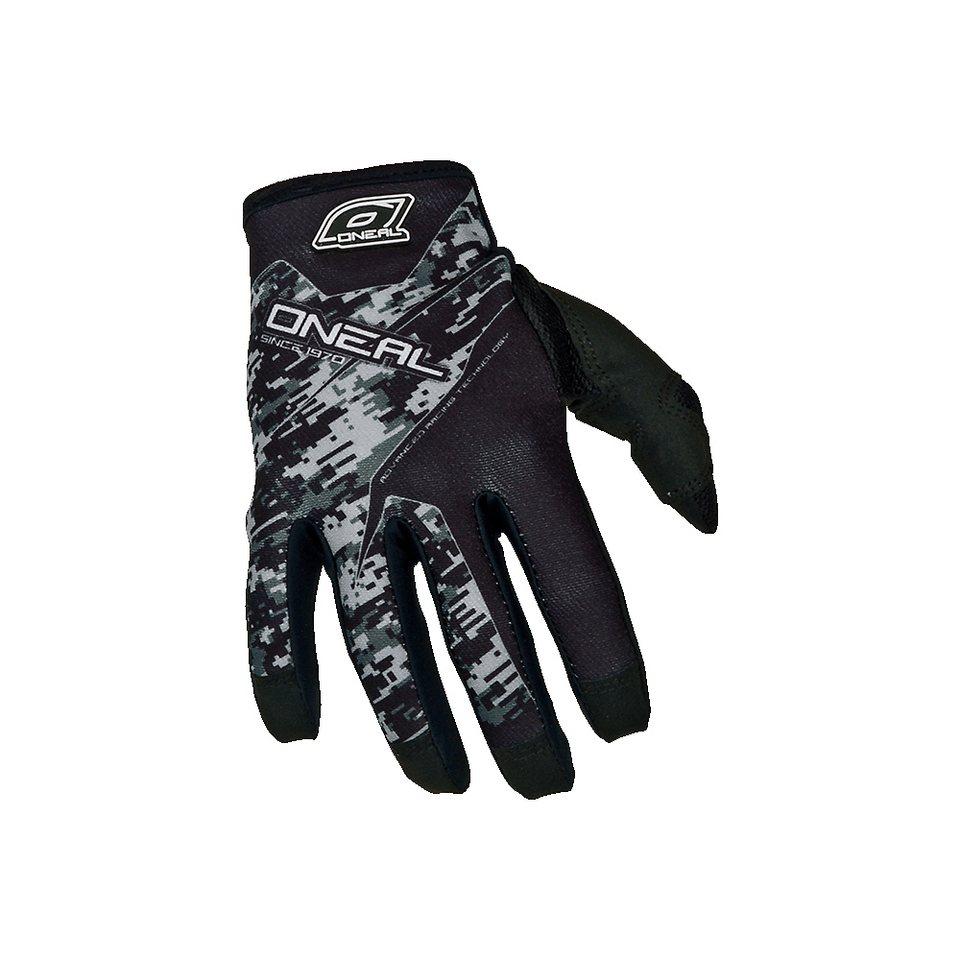O'NEAL Fahrrad Handschuhe »Jump Glove Digi Camo« in schwarz