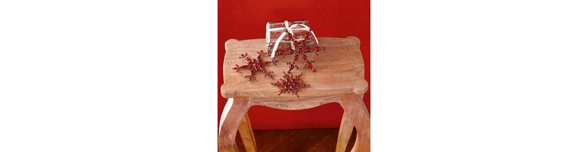 Loberon Weihnachtsschmuck 3er-Set »Selia«