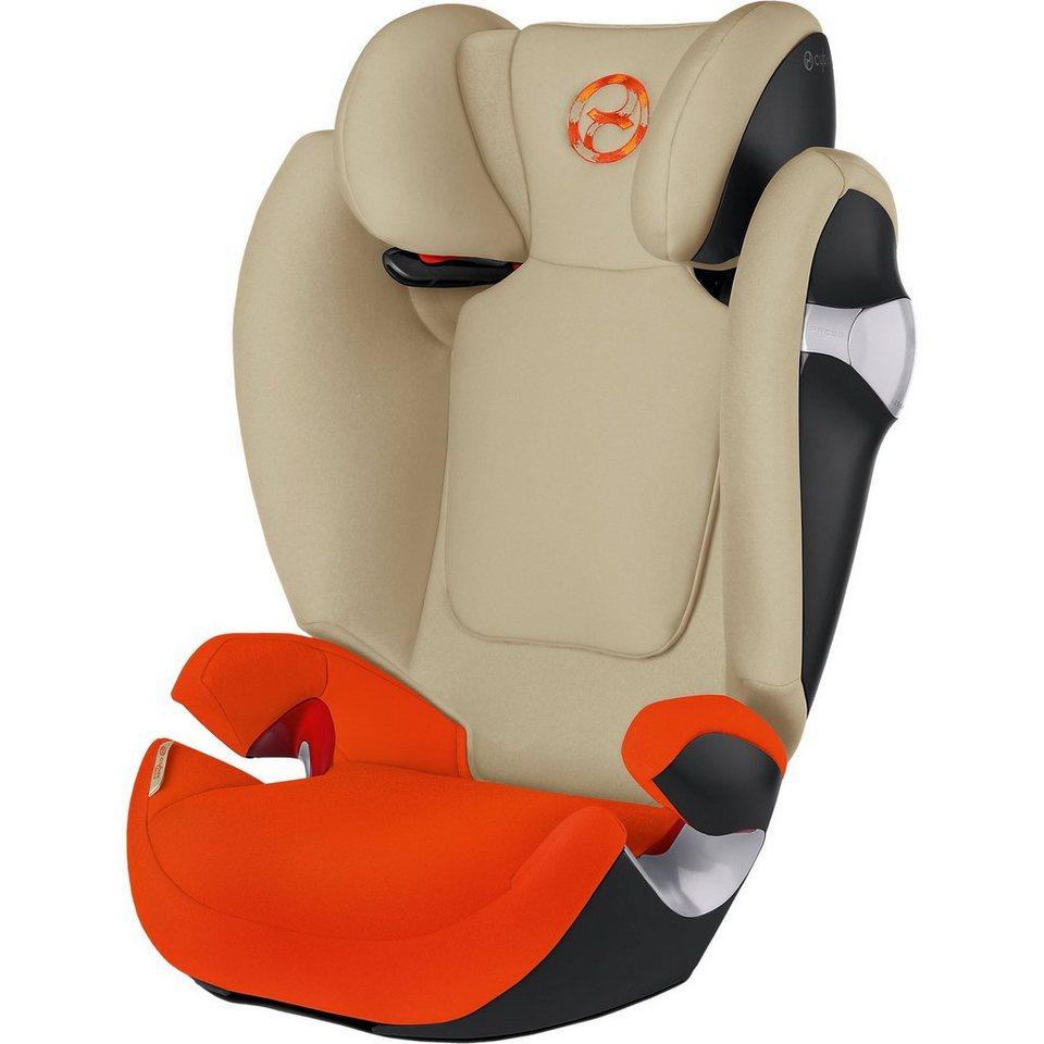 Cybex Auto-Kindersitz Solution M, Gold-Line, Autumn Gold, 2016 in orange