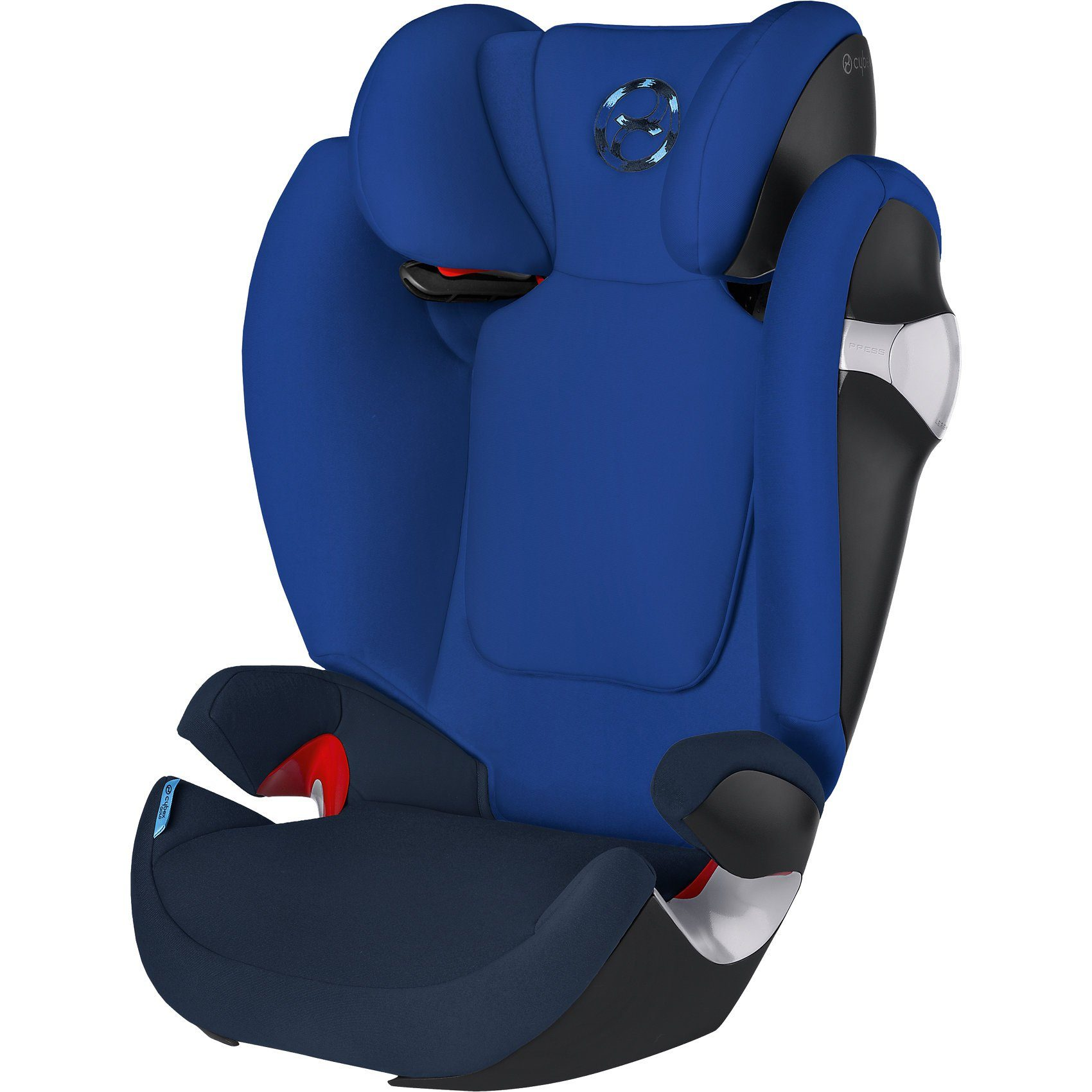 Cybex Auto-Kindersitz Solution M, Gold-Line, Royal Blue-Navy Blue,