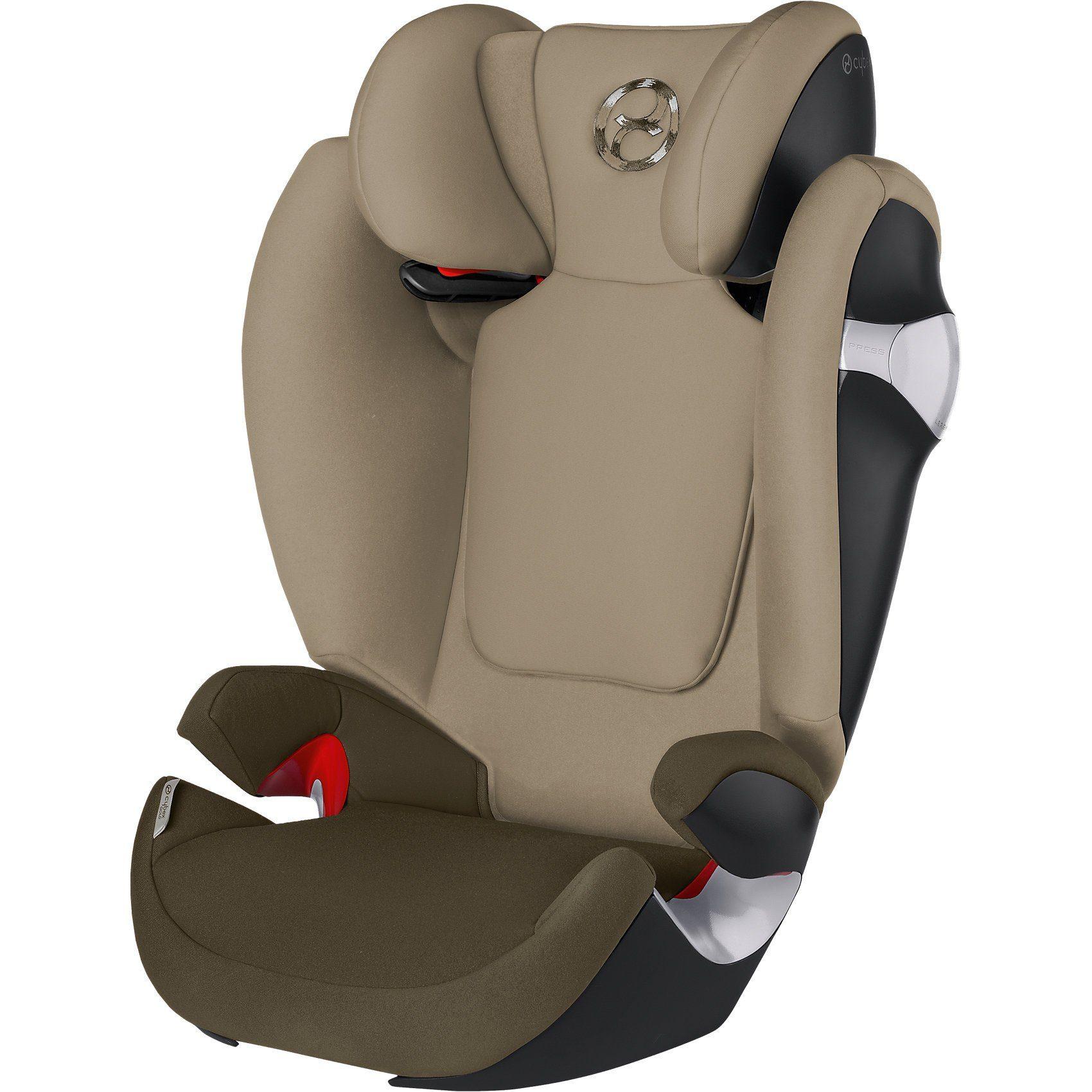 Cybex Auto-Kindersitz Solution M, Gold-Line, Olive Khaki-Khaki, 20
