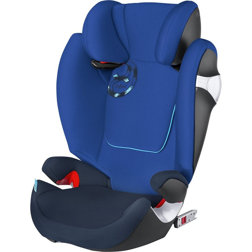 Cybex Auto-Kindersitz Solution M-Fix, Gold-Line, Royal Blue-Navy B in blau