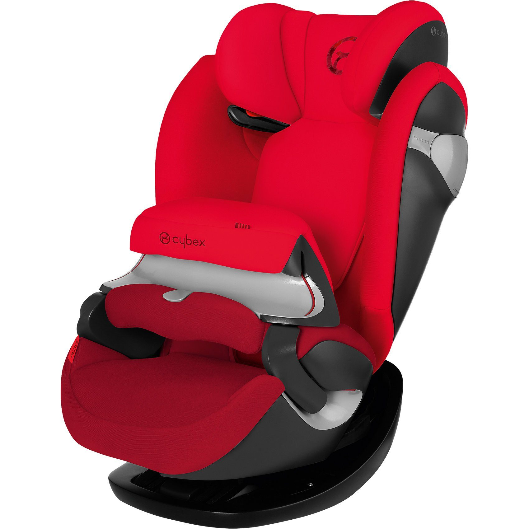 Cybex Auto-Kindersitz Pallas M, Gold-Line, Mars Red-Red, 2016