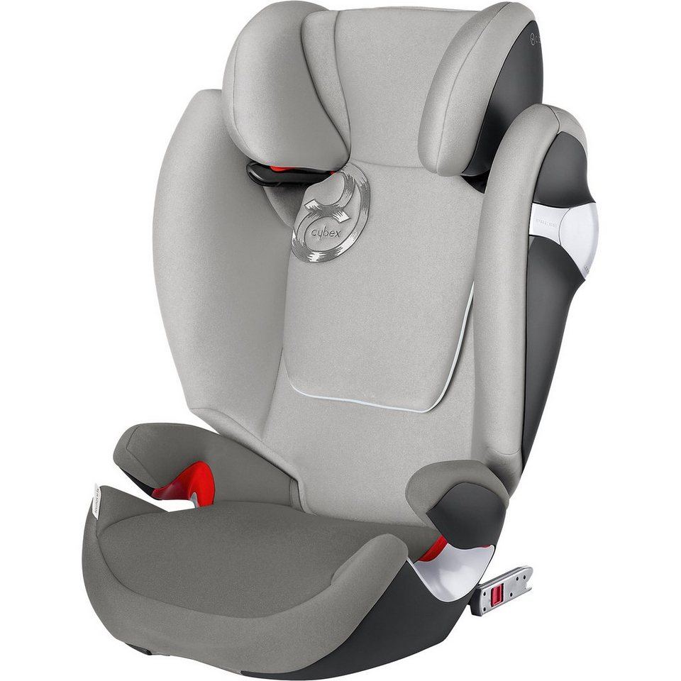 Cybex Auto-Kindersitz Solution M-Fix, Gold-Line, Manhattan Grey-Mi in grau