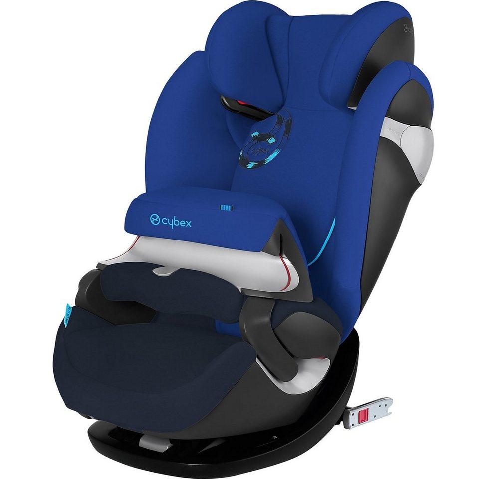 Cybex Auto-Kindersitz Pallas M-Fix, Gold Line, Royal Blue-Navy Blu in blau