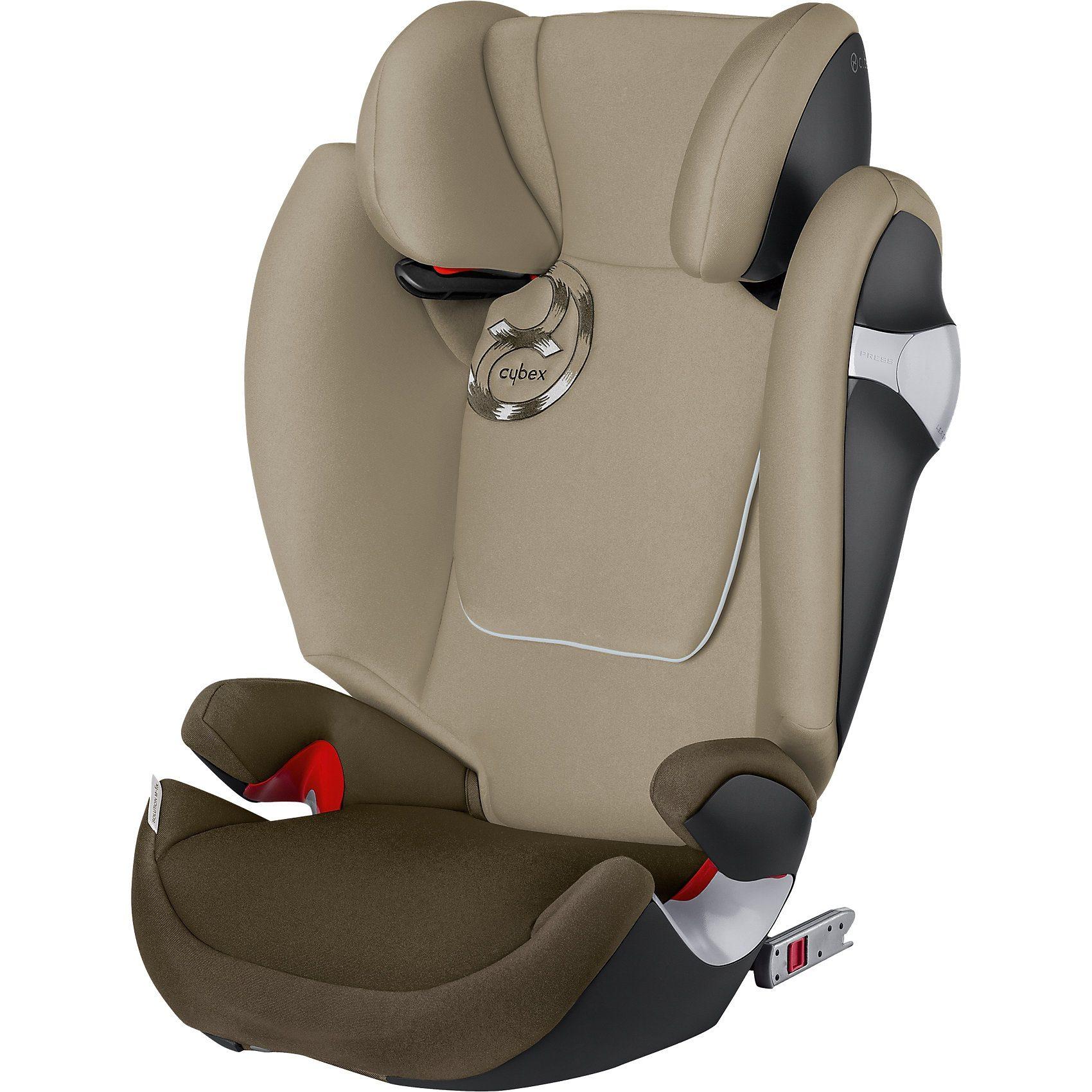 Cybex Auto-Kindersitz Solution M-Fix, Gold-Line, Olive Khaki-Khaki