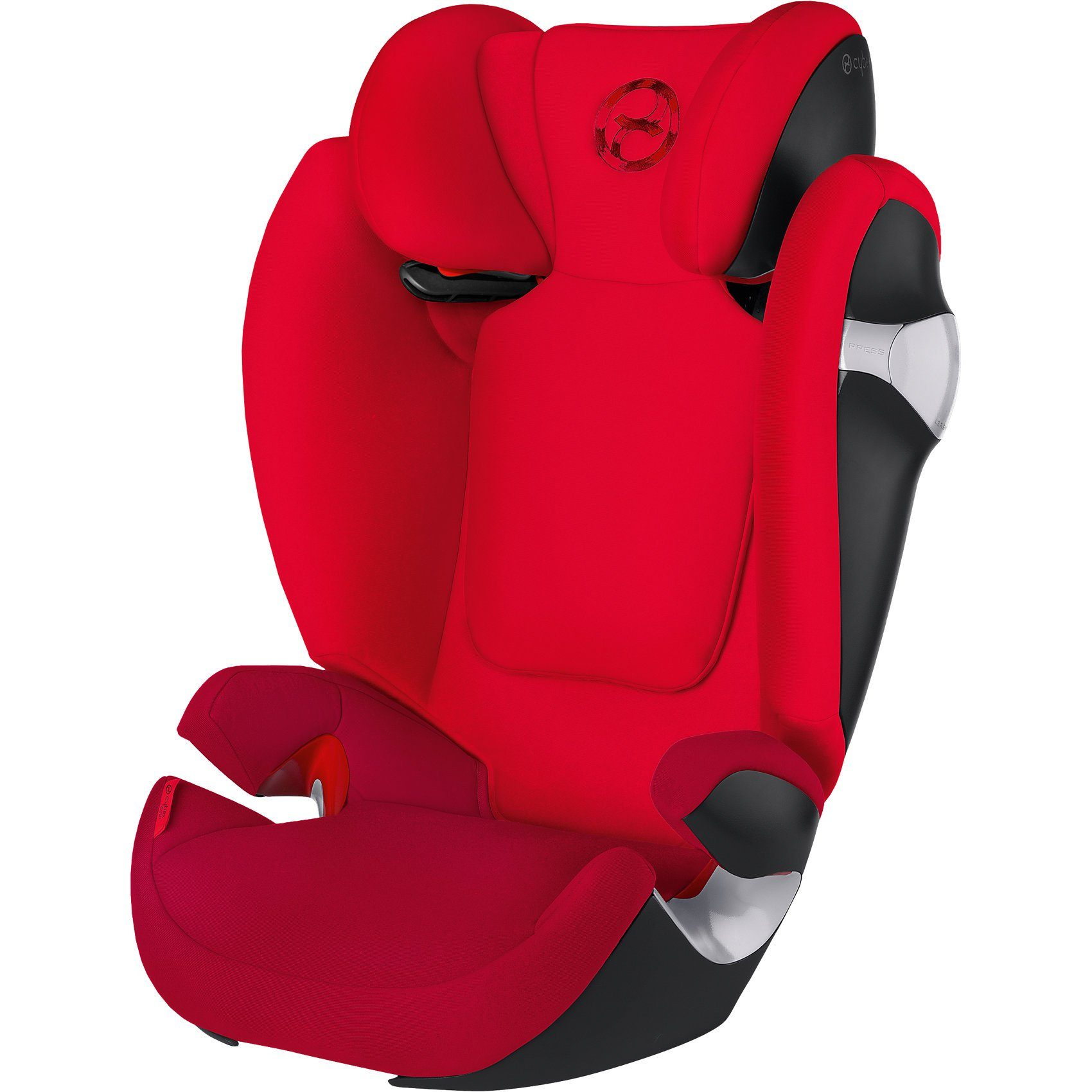 Cybex Auto-Kindersitz Solution M, Gold-Line, Mars Red-Red, 2016