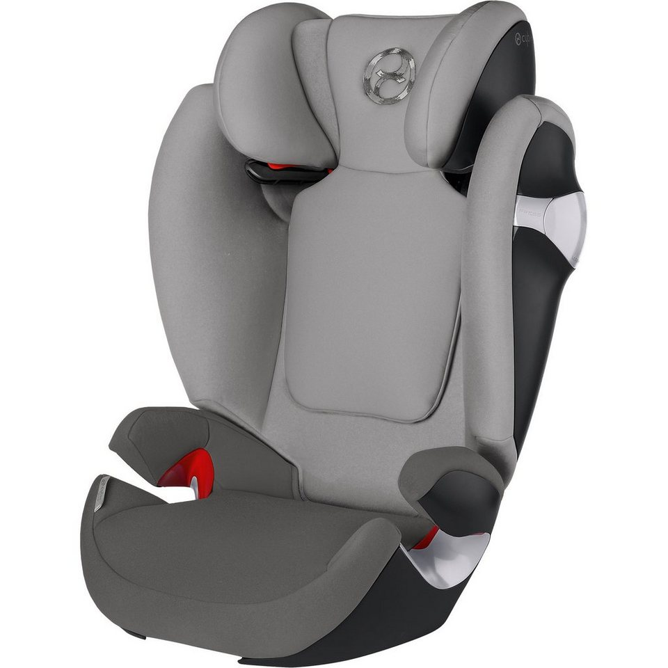 Cybex Auto-Kindersitz Solution M, Gold-Line, Manhattan Grey-Mid Gr in grau