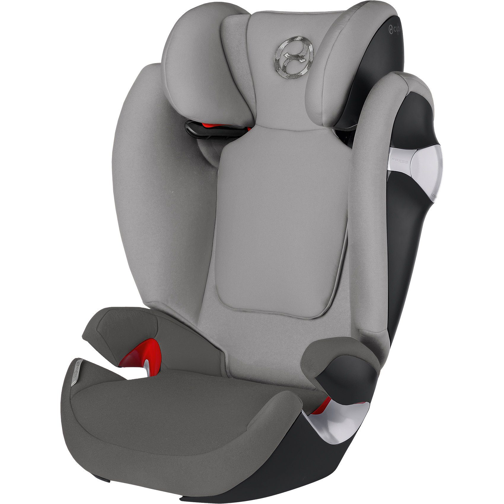 Cybex Auto-Kindersitz Solution M, Gold-Line, Manhattan Grey-Mid Gr