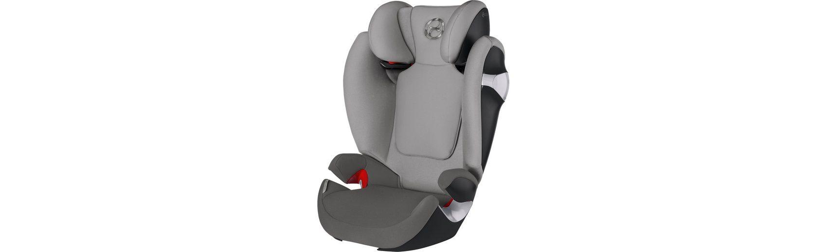 Cybex Auto-Kindersitz Solution M, Gold-Line, Manhattan Grey-Mid Gr