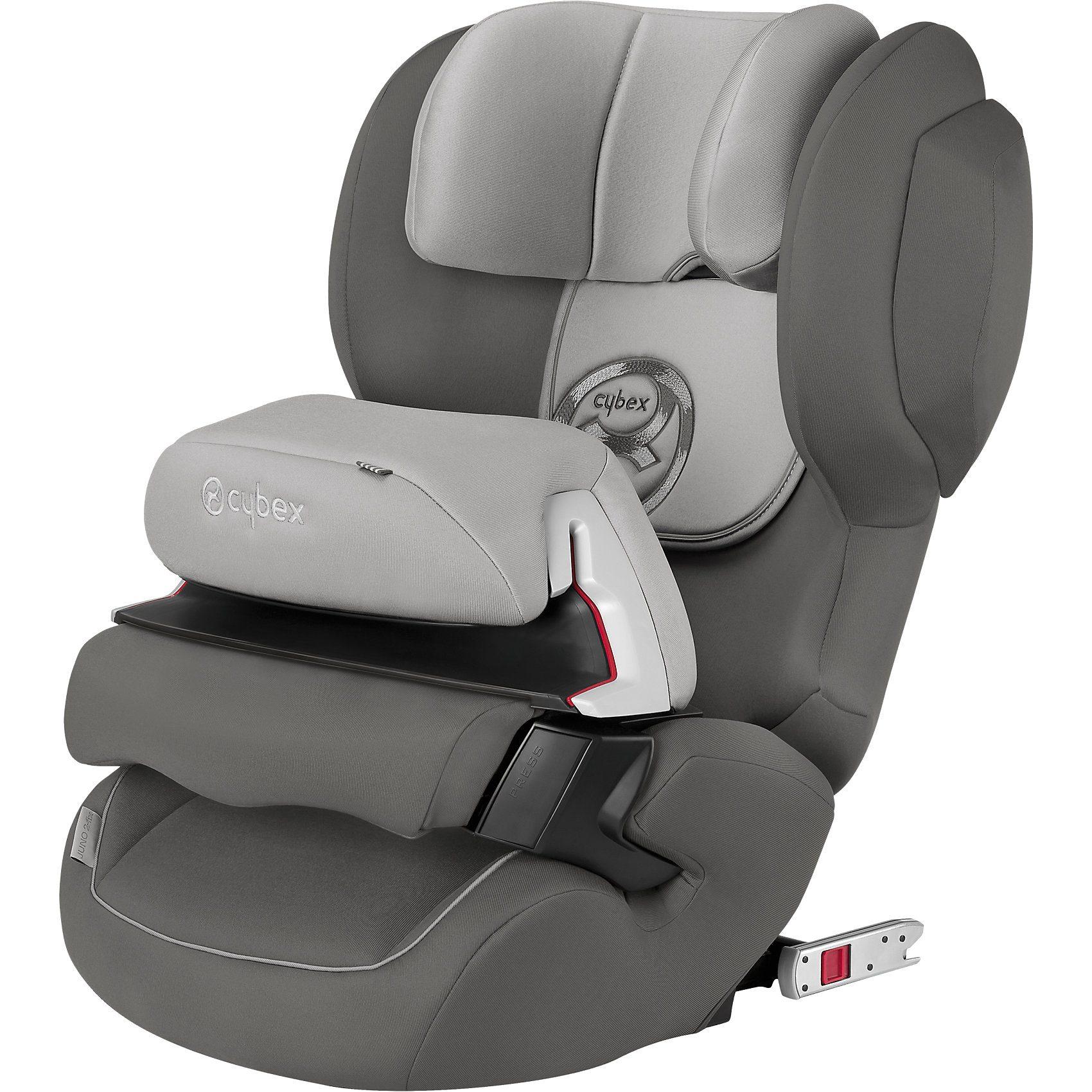 Cybex Auto-Kindersitz Juno 2-Fix, Gold-Line, Manhattan Grey-Mid Gr