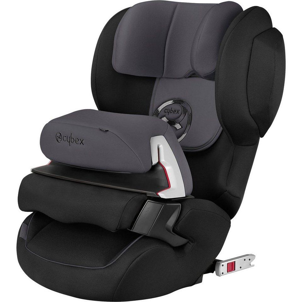 Cybex Auto-Kindersitz Juno 2-Fix, Gold-Line, Phantom Grey-Dark Gre in grau